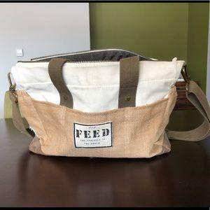 FEED brand diaper bag